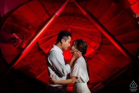 Vietnam Da Lat Pre Wedding Portrait - Light up with colors