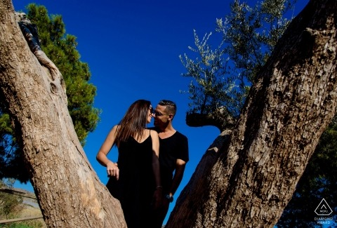 Aguilas, Murcia Pre Wedding Shoot with Engaged Couple — Sunny day in Aguilas