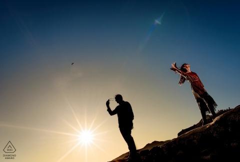 Almería - Photographe de fiançailles pour l'Espagne | Journée ensoleillée à cabo de gata