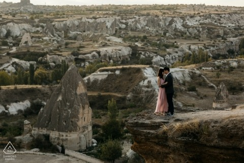Turkey Love in Cappadocia! - Engagement and Pre Wedding Portraits
