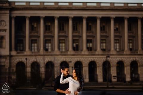 Philadelphia Art Museum Engagement Fotograf: Mit dem, was ich hatte. Gebäude und Menschen.