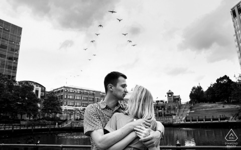 Providence, RI portrait photography - At the end of the session, we captured a few more lovebirds