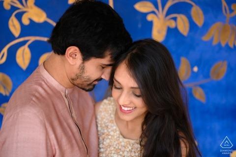 Jaipur, India fotografía previa a la sesión de boda | El sentimiento de amor, el que no se puede describir con palabras. Solo capturado en una fotografía.