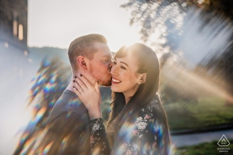 Haus Kemnade Hattingen engagement photography - you are my sunshine