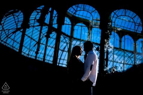 Cristal Palace à Madrid Séance d'engagement du parc du Retiro