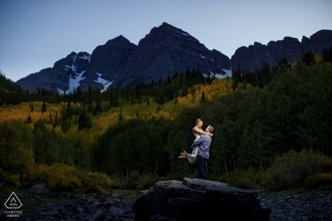 Justin Edmonds, of Colorado, is a wedding photographer for