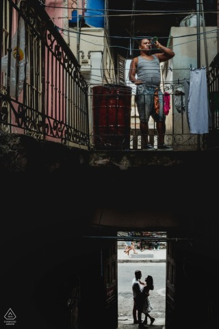 Betrokkenheidssessie in Cuba - Portraits of Love