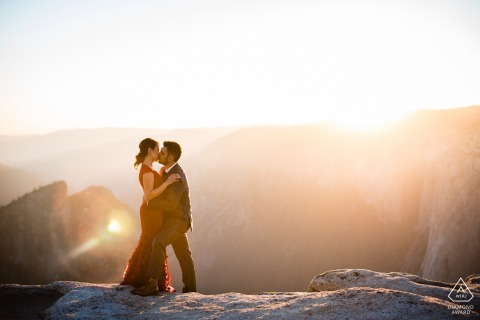 Yosemite National Park Sunset Portraits from the Top