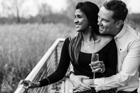 Cotswold Water Park, Cirencester, UK prewedding shoot for engagement images