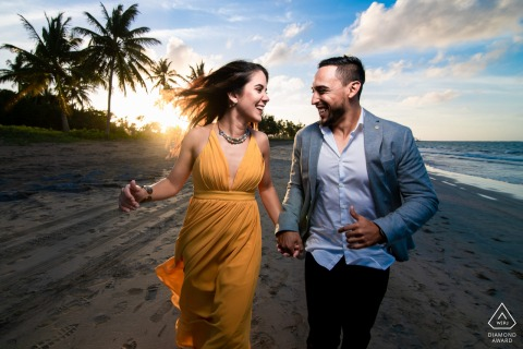 Dorado Pre-Wedding Photographer: The connection, the lighting and the action. Love everything about this image.