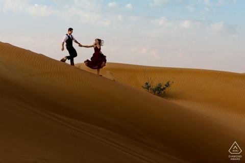 Fossil Rock, Dubai Desert Portrait Session - Desert adventure pictures
