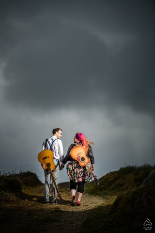 Nick Despres, of Guernsey, is a wedding photographer for
