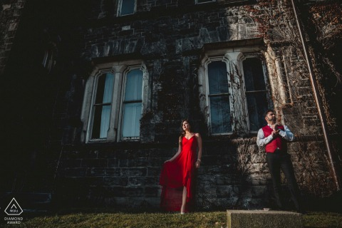 Engagement Photography Session from University of Toronto - Sun & Shade