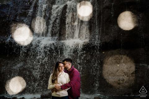 Engagement Photos | Webstar Falls, Hamilton - Beautiful Falls in an intimate spot