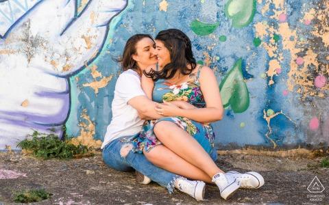 Verlobte Paare Fotograf | Jaraguá, Maceió, Alagoas farbenfrohe Liebe