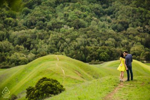 Couple Engagement Photos | San Leandro, Mount Diablo - Your love can't be higher