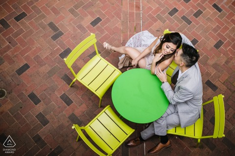 Engaged Couple Session | Chinatown, Oakland CA - Coffee for Two
