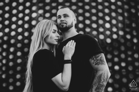 Verlovingssessies | Creatief beeld in de hoofdstad van Litouwen - Vilnius