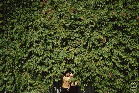 Verlovingsfoto uit Ho Chi Minh-stad, Vietnam - In the Green