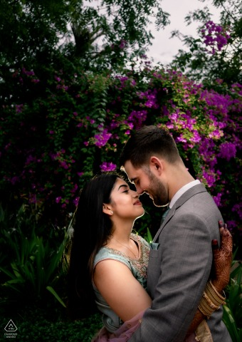 Engagement Photographer | Silparamam, Hyderabad, India - A cross culture destination wedding.