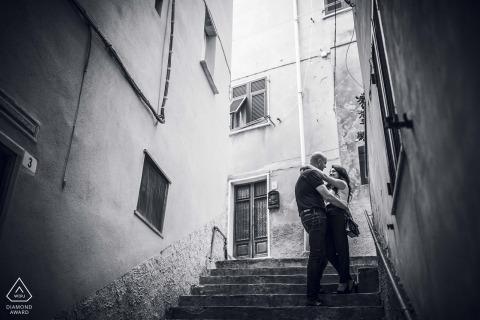 Fotografia de casais noivos | Portovenere Love engement gement