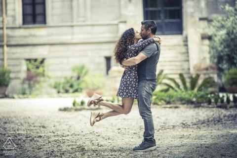 Couple Engagement Photo Session | torre del lago love