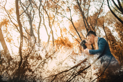 Engaged Couples Photography | Ho Coc, Vietnam Fall, in love with each other