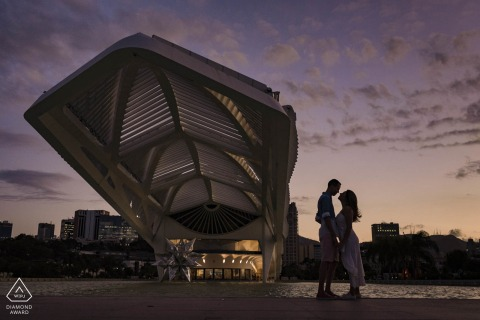 Museu do Amanhã, Píer Mauá, Rio de Janeiro, Brazil - The beginning of a lifetime together. The sky is the limit!