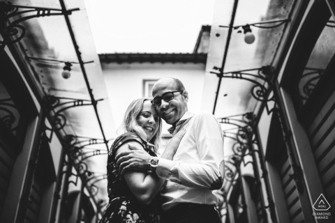 Engagement photos in Lucca	- a beautiful city in Tuscany, it offer many wonderful spots