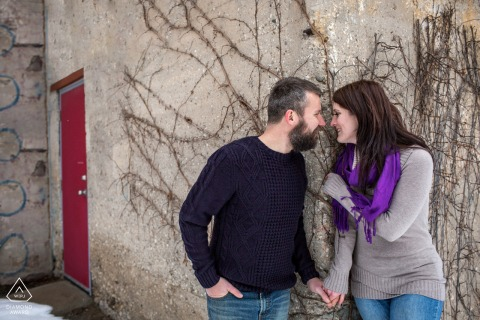 Engagement session in Guelph, Ontario, Canada