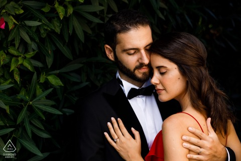 kyrenia, cyprus engagement photo session in formal dress