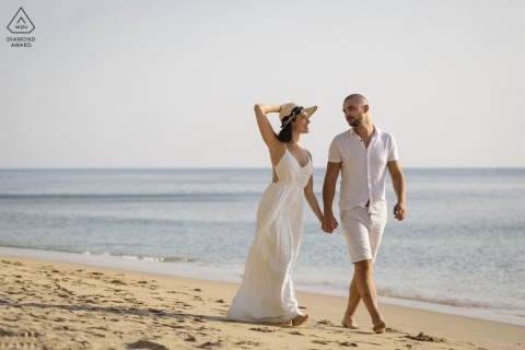 Phu Quoc Island pre-wedding portraits - blue sea, sunlight, you and me