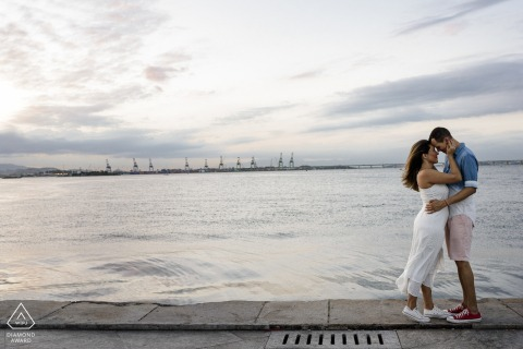 Life with you is calmer. The sea water lulls our love in Museu do Amanhã, Píer Mauá, Rio de Janeiro, Brazil