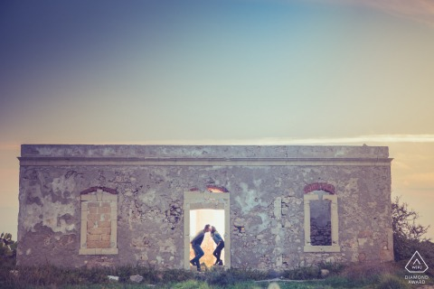 Siracusa couple show their love in sicily during engagement shoot