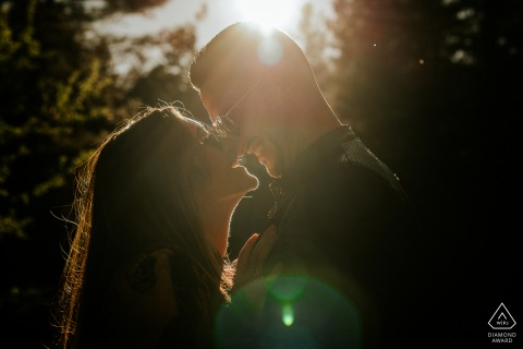 Calabria (Italy)	Engagement portraits in the afternoon sunshine outdoors