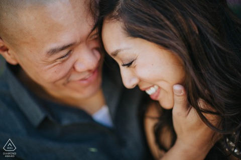 San Francisco, California engagement shoot with Love in Mission District