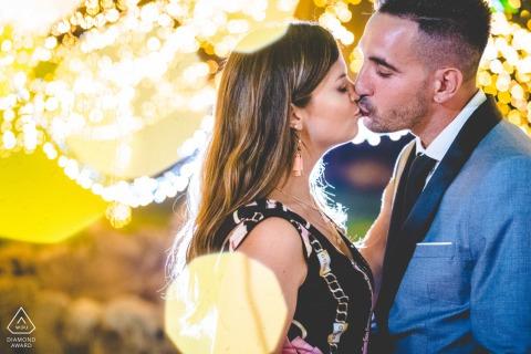 Portopalo di Capopassero aime en Sicile lors d'une séance photo avant le mariage