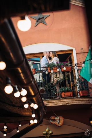 PL pre wedding and engagement photography at a Mexican restaurant in Lodz, Poland