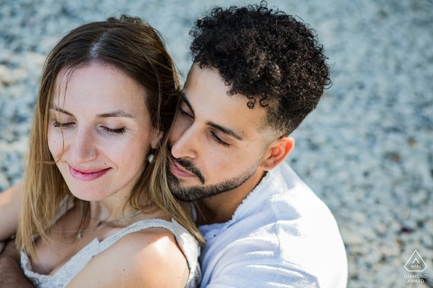 IT pre wedding and engagement photography at the lake in Forlì-Cesena, Italy