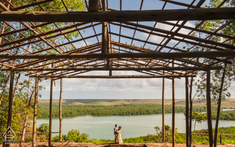 Roteiro, Alagoas minimalism in a wonderful landscape during an engagement photoshoot