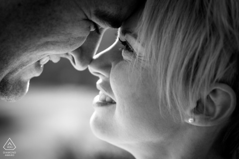 Pampelonne du Tarn Fine Art Pre Wedding Portrait in South of France and in BW
