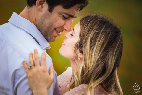 Orvieto on-location portrait e-shoot - closeup portrait of the couple