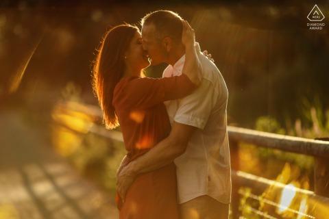 Steinhausen, ZH couple e-shoot kissed by the sun