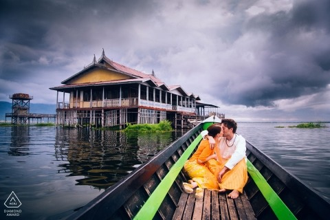 Koh Samui Engagement Portrait Photograph by Aidan Dockery