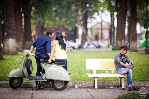 Koh Samui Engagement Portrait Foto door Aidan Dockery