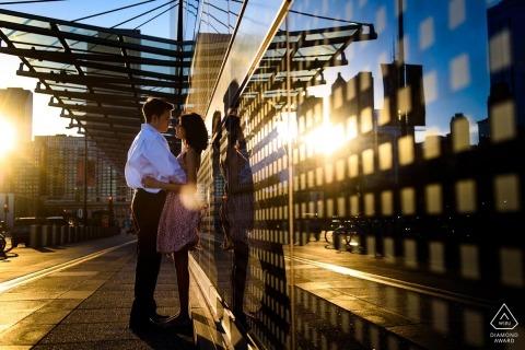 Chicago Engagement Portrait Foto door Candice C. Cusic