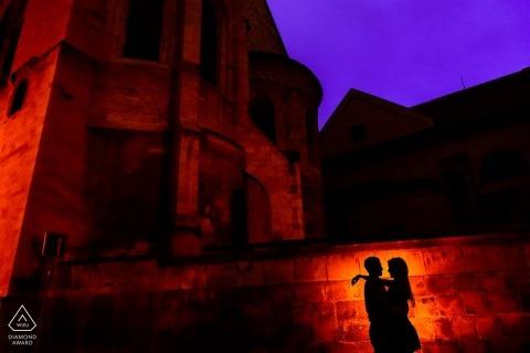 Oxnard Engagement Portrait Fotografia di Carsten Schertzer