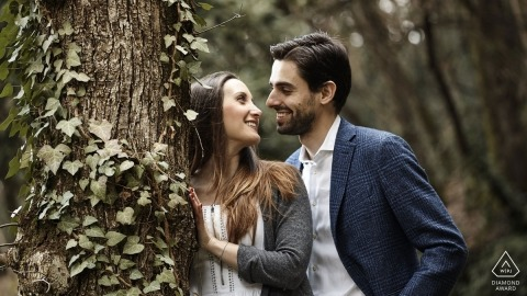 Arezzo Engagement Portrait Foto door David Butali