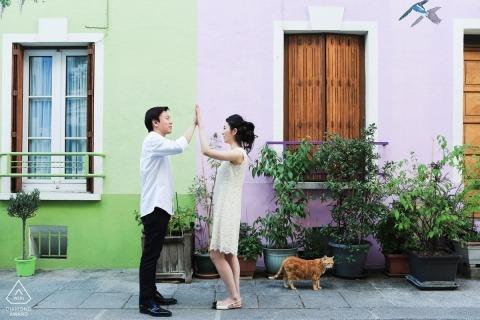 Photographie de Portrait de fiançailles à Lyon par Franck Boutonnet