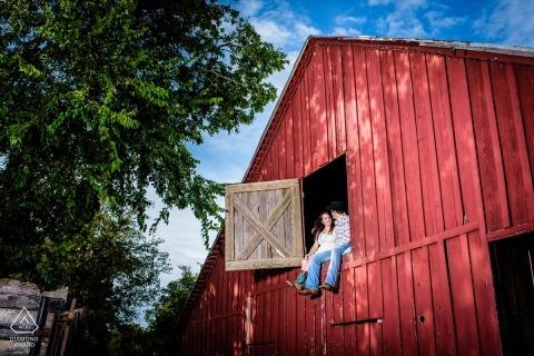 Austin Engagement Portrait Photograph by John Pesina